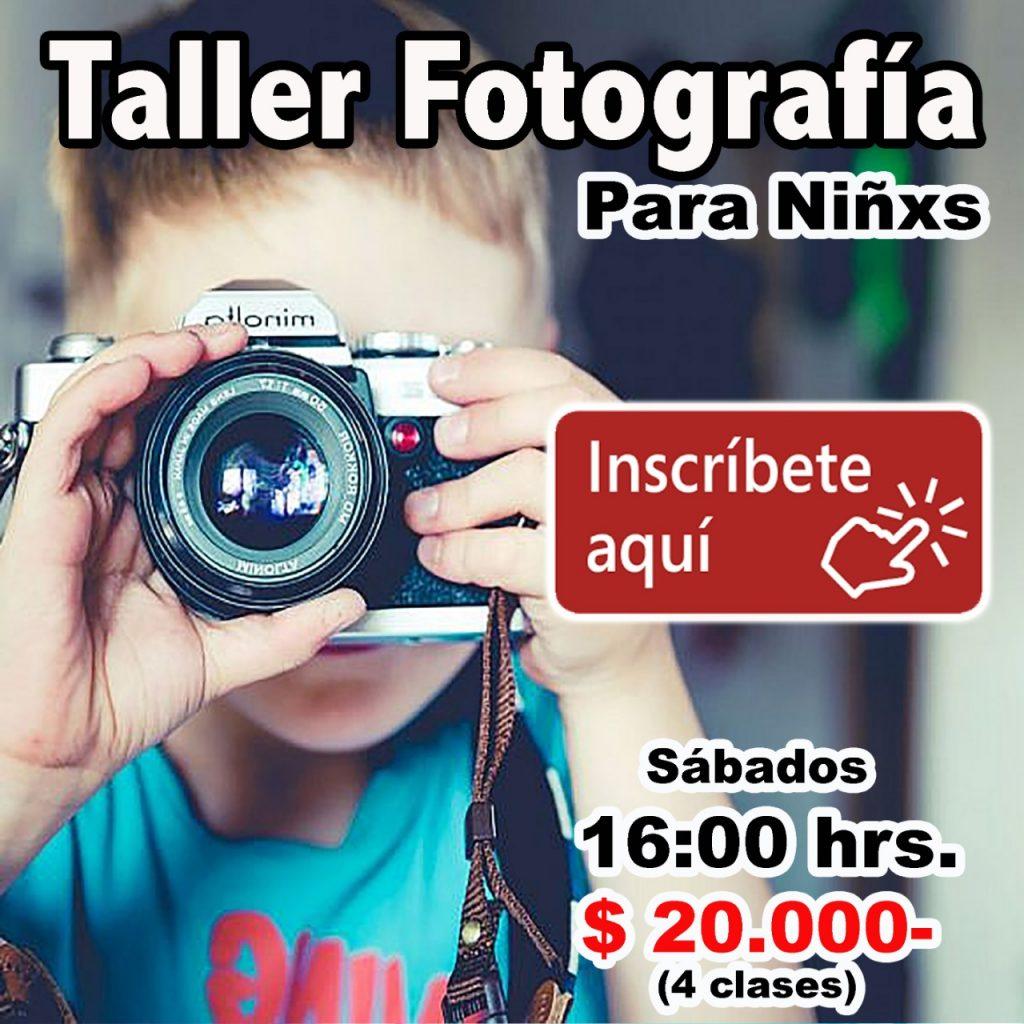 Taller de Fotografía para niños On Line